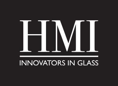 HMI Black BG White Logo