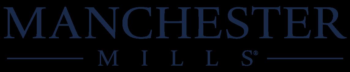 Manchester Mills Logo BLUE
